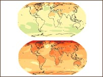 klímatérképek