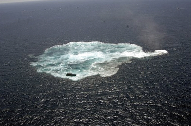 anyahajó süllyesztése a Mexikói-öbölben