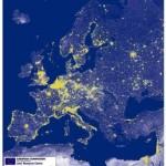 EU éjszakai fényben