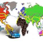 Solartaxi útvonal