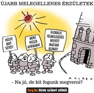 magyarok és a klímaváltozás