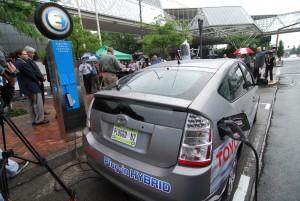elektromos autó töltőállomás (fotó: Earth2Tech)
